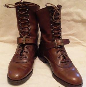 Joan & David monk strap boots